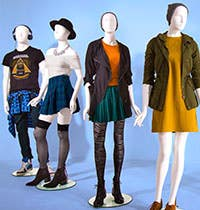 Abstract Store Mannequins