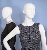 Female Retail Store Mannequins