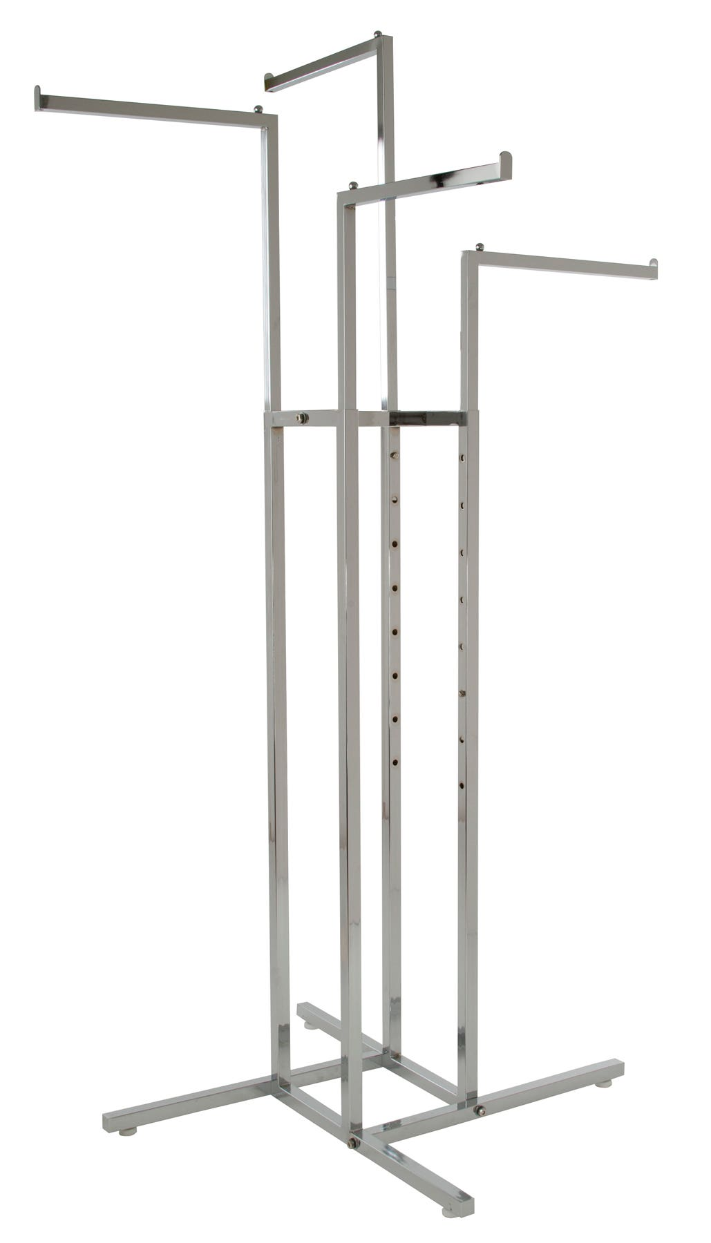 4-Way Retail Clothing Racks