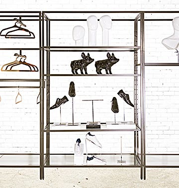 Linea Retail Fixture Collection