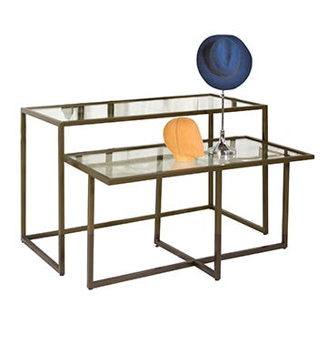 Linea Retail Display Tables