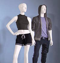 Maggie and Edgar Realistic Mannequin Series