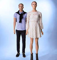 Judy and Rudy Realistic Mannequin Series