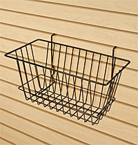 Slatwall Bins & Baskets