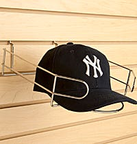Slatwall Hat Displays