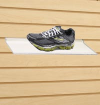 Slatwall Shoe Displays