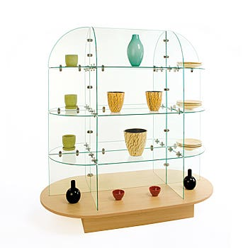 Glass Shelf Units