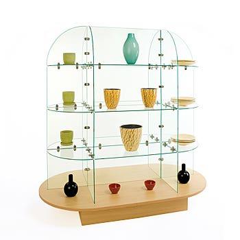 Glass Shelf Units
