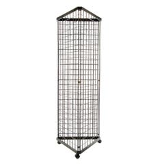 3 Way Grid Merchandiser - Black